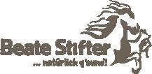 Beate Stifter, Energetische und manuelle Therapien am Tier, Barhufexpertin & Ernährungsberaterin für Pferde